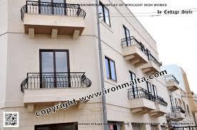iron balcony balconies railings art metal works malta full