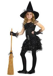red witch halloween costume girls glitter witch costume