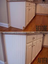 awesome beadboard cabinets on beadboard on ends of cabinet for the