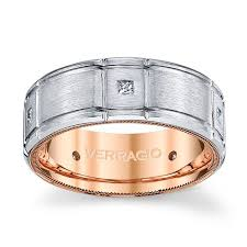 1 5 mm wedding band verragio 14k two tone 8 mm diamond wedding band 1 5 cttw