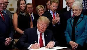donald trump presiden amerika presiden amerika serikat donald trump batalkan obamacare dunia