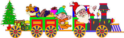 christmas train graphic animated gif graphics christmas train 218708