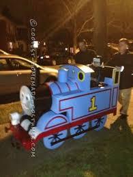 Train Halloween Costume Train Conductor Diy Thomas Train Family Costumes