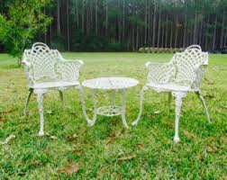 Vintage Patio Furniture Etsy - Antique patio furniture