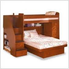 twin over full bunk bed with stairs home design queen size bunk