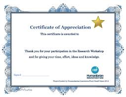 sample text for certificate of appreciation free template for training certificate
