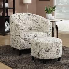 Plaid Chair And Ottoman by Farmhouse Accent Chairs Birch Lane