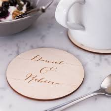calligraphy drinks coaster wooden drink coasters gift for