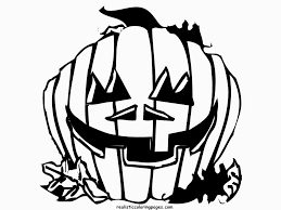Printable Scary Halloween Coloring Pages by Halloween Pumpkin Coloring Pages Virtren Com
