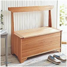 wooden storage bench with drawers bamboo hallway storage bench