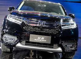 honda suv 2016 honda avancier china only suv flagship revealed photos 1 of 9