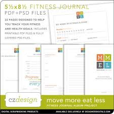 move more eat less fitness journal cathy zielske pse ps