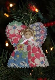 Quilted Christmas Tree Ornaments Janmade An Angel For My Christmas Tree
