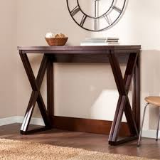 convenience concepts oxford console table oxford console table espresso convenience concepts target with