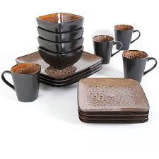 better homes and gardens atlas 16 dinnerware set walmart