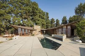 mid century modern home palos verdes art center raffles oceanfront mid century modern home