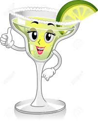 margarita drawing fun clipart