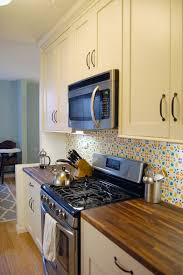 cheap backsplash ideas for the kitchen 15 ideas for removable diy kitchen backsplashes apartment therapy