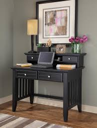 Student Desk With Drawers by Home Styles Arts And Crafts Black Student Desk With Hutch 5181 162