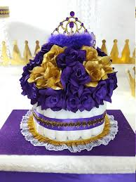 royal princess baby shower theme royal princess baby shower theme purple purple gold cake