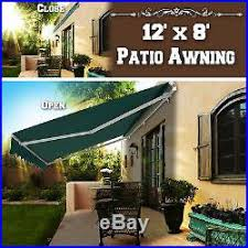 12 Awning Patio Awnings Canopies And Tents 12 U2032x8 U2032