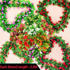 Discount Outdoor Christmas Decorations by Online Get Cheap Artificial Ivy Vines Outdoor Aliexpress Com