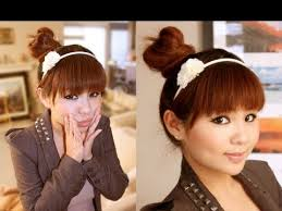 japanese hair easy japanese hair bun tutorial