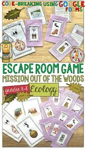 ecology ecosystems escape room game using google forms ecology