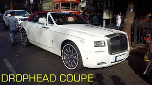 drophead rolls royce cars of ambani rolls royce phantom drophead coupe carblogindia