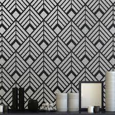 art deco stencils glamorous wall stencils patterns wallpaper