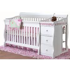 White Convertible Baby Crib Sorelle Princeton 4 In 1 Convertible Crib N Changer White C