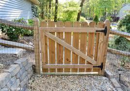 luxury building a garden gate from wood garden design