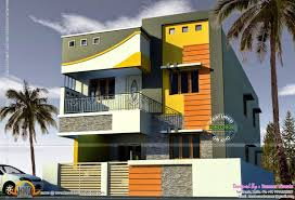 house design and floor plans for two storey home of square designs