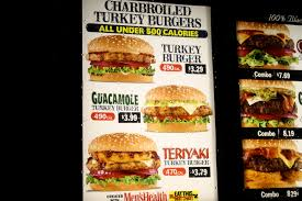 an immovable feast fast food review carl s jr turkey burger