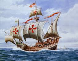 The Sta. Maria, one of the 3 ships in the voyage of Colombus