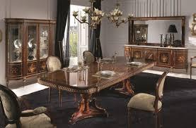 Classic Dining Room Furniture by Creaciones Fejomi Luxury Classic Marquetry Furniture