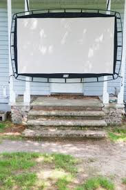how to host a backyard movie night part 1 before dark hello