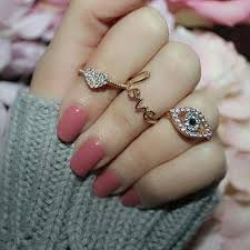 girl hand rings images Pin by anam siddiqui on rings pinterest ring girly and girly jpg