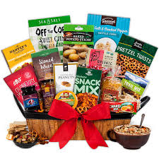 healthy gift basket healthy gift basket deluxe by gourmetgiftbaskets