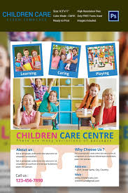 daycare brochure template free child care flyer templates daycare flyer template 27 free psd
