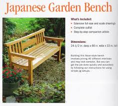 Fine Woodworking Bench Plans To Build Teak Japanese Garden Bench By Fine Woodworking