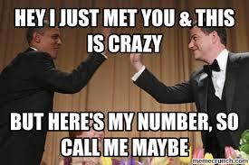 Call Me Maybe Meme - me maybe meme