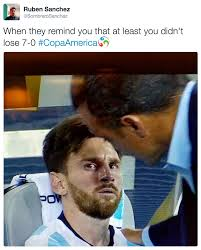 Messi Meme - at least it wasn t 7 0 crying messi know your meme
