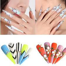 online get cheap false nails round clear aliexpress com alibaba