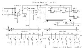 cmos serial receiver