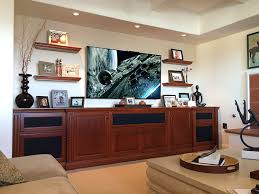 Floating Shelves Entertainment Center by Custom Built In Entertainment Centers And Home Office Furniture
