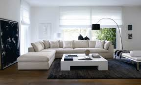 Modern Living Room Sofas Living Room A Modern Living Room With Modular Sofa Design
