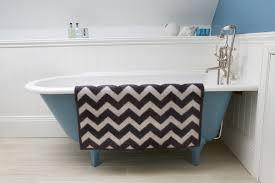Large Bathroom Rugs How To Clean Chevron Bath Rug U2014 Prefab Homes