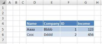 excel copy a range to a virtual range stack overflow