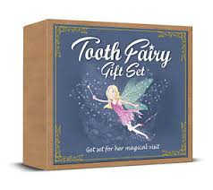 tooth fairy gift tooth fairy gift set story book tooth bag fairy dust